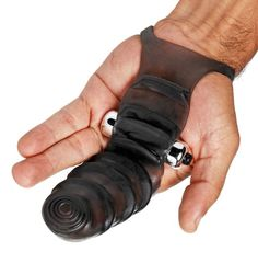 Bang Bang G-Spot Vibrating Finger Glove-This uniquely shaped vibrating G-spot stimulator will take fingering your partner to a whole new level. $12.75 ()