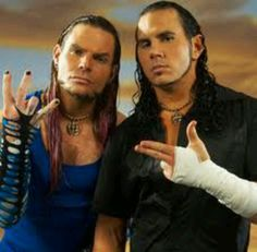 Matt and Jeff Hardy can I have them for my birthday lol!!!!