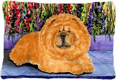 Chow Chow Indoor/Outdoor Throw Pillow