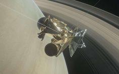 La sonda Cassini se coloca entre Saturno y sus anillos por primera vez en la Historia
