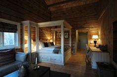 Offering a traditional restaurant and private jetty, Storfjord Hotel is 9 km from Skodje village. Bunk Beds, Norway, Restaurant, Traditional, Travel, Furniture, Home Decor, Viajes, Decoration Home