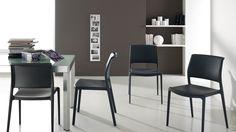Ara chairs. #Scavolini #InteriorDesign