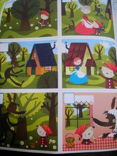 Werkblad logisch rangschikken: het verhaal van Roodkapje  (vakantieboek Averbode) Interior Design Living Room, Living Room Designs, Art Classroom Management, Wolf, Too Cool For School, Red Riding Hood, Little Red, Fairy Tales, Projects