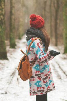Maddinka - blog modowy : Printed coat.