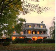 """Grab your sweetheart and spend the night at the romantic Woolverton Inn. This photo is part of the Visit Bucks County """"Repin It To Win It Contest."""" Repin this photo until May 1, 2012 to win a one night stay at the Woolverton Inn in a standard room, Sunday through Thursday."""