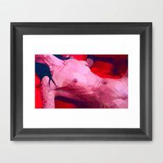 Femme fatale | Polygon Art Framed Art Print by Mirek Kodes - $37.00 Polygon Art, Framed Art Prints, Painting, Painting Art, Paintings, Painted Canvas, Drawings