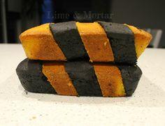Lime & Mortar: Caution Tape Cake Tutorial