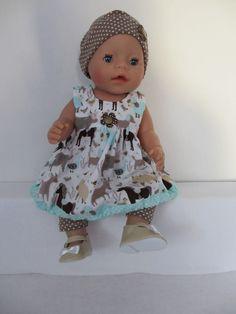 Voor Baby Born Girl  www.rosalinpoppenmode.nl