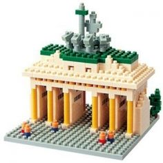 #Nanoblock Sights To See Collection Brandenburger Tor includes 8x8 cm #plate  #Pieces :over 460 Our Price: S$27.90