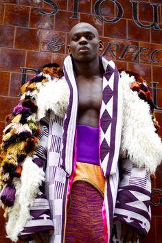 Neue afrikanische Mode