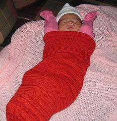 Ravelry: Baby Cocoon pattern by Stephanie Widmann
