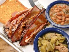 Real old fashioned BBQ joint. Open Sun - Wed 11 am - 9 pm, Thurs - Sat 11 am - 10 pm. Food is cooked fresh everyday, which means they sometimes will run out (get there early).