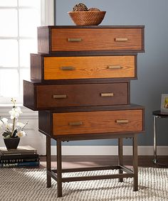 Look at this Kismet Multifinish Four-Drawer Cabinet on #zulily today!