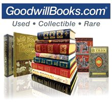 Used books, out-of-print books, Used textbooks. Goodwill Thrift Store, Online Thrift, Vintage Milk Can, Goodwill Industries, Used Textbooks, Featherweight Sewing Machine, Crystal Centerpieces, Unusual Facts, Milk Cans