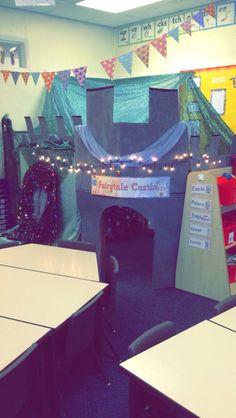 Fairytale role play area