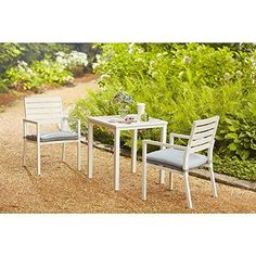 Hampton Bay Blue Springs 3-Piece Outdoor Patio Bistro Set (AC-AC-3014-3)