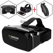 Look what I just bought on eBay: Shinecon VR Virtual Reality Headset 3D Movies Games Video Glasses+Controller USA