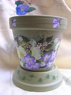 one stroke painting flower pots | Recent Photos The Commons Getty Collection Galleries World Map App ...