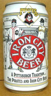 Iron City Beer Can 1990 Pittsburgh Pirates Pennsylvania | eBay