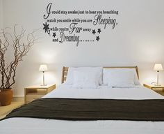 love and life quotes and sayings removable wall bedroom wall decorationsbedroom - Wall Decoration Ideas Bedroom