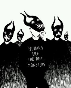 Quotes Deep Thoughts Truths Sad Ideas For 2019 Arte Obscura, Real Monsters, Dark Quotes, Arte Horror, Deep Thoughts, Life Thoughts, Dark Art, Art Drawings, Drawing Quotes