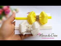 LAÇO LUXINHO RN 🎀 - YouTube Little Girl Outfits, Little Girls, Baby Hair Bows, Iris, Hair Clips, Headbands, Arts And Crafts, Ribbon, Hair Accessories