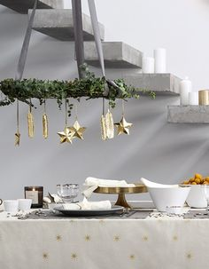Comment faire une decoration de table pour noel