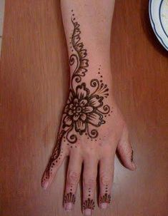 henna tatoo basic designs | ... mehandi designs good mehendi design stunning bridal mehendi design