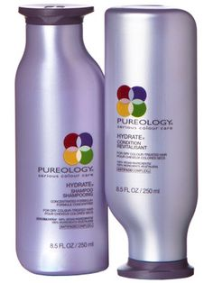 Pureology Hydrate - Serious Color Care.... InStyle Best Beauty Buys 2012 Winner. Sunflower keeps your color from fading. Smells Heavenly.