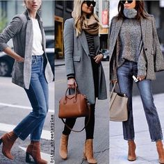 vogue__styles ✔️✔️ 2 or Check link in bio for shoppin Casual Winter Outfits, Winter Fashion Outfits, Autumn Winter Fashion, Fall Outfits, Fashion Clothes, Fashion Dresses, Vogue Fashion, Look Fashion, Womens Fashion