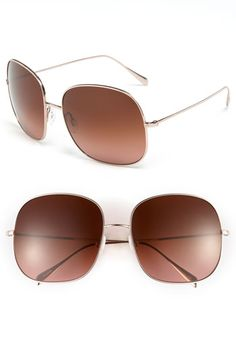 Loving these rose gold Oliver Peoples sunnies!