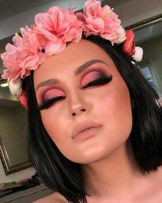 Gorgeous Makeup: Tips and Tricks With Eye Makeup and Eyeshadow – Makeup Design Ideas Makeup Is Life, Makeup Eye Looks, Cute Makeup, Makeup Goals, Glam Makeup, Gorgeous Makeup, Pretty Makeup, Makeup Inspo, Eyeshadow Makeup