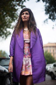 Milan Fashion Week: street style (часть 1) (фото 29)