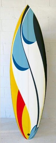 #Surfboard art #Tom Viega