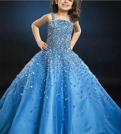 Gorgeous Christmas Girl Dress Little Girl's Pageant Dress