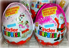 Get ready for your Holiday Celebrations with our Kinder Canada Giveaway! KinderMom  Prize pack includes: Kinder Advent Calendar, Kinder Surprise egg, Kinder Hollow Santa and Kinder Surprise Maxi. Canada only. Ends 11/27/2014. | The Flying Couponer