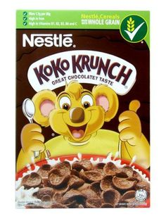 12 best koko krunch images on pinterest breakfast cereal cereal nestle koko krunch ccuart Choice Image