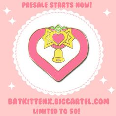 Image of Strawberry Bell Enamel Pin