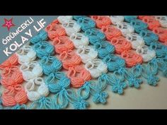 After watching the beautiful blanket of grow I couldn't resist starting my own bohemianblanket and I can't tell you how happy I… Crotchet Stitches, Puff Stitch Crochet, Free Crochet Bag, Crochet Shawl, Crochet Baby, Knit Crochet, Knitting Videos, Crochet Videos, Sewing Patterns