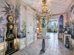 Home Room Design, House Design, Leather Wall Panels, Fireplace Frame, Palace Of Versailles, Property Records, Luxury Real Estate, Luxury Homes, Beautiful Homes