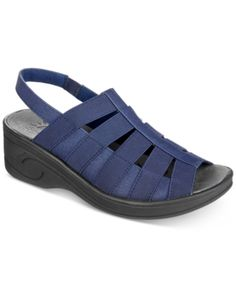 2835ac411 Easy Street Solite Floaty Sandals - Blue 5.5M. Blue SandalsWomen s Shoes ...