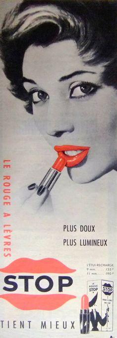 Stop Lipstick Ad
