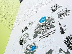Botanika - Gemeinsam mit Petra Schäffer von der botanika und Uwe Dahl von hanseWasser stellte GfG-Geschäftsführer Carsten Dempewolf Interessierten der Presse und Öffentlichkeit das Konzept vor. Wir übersetzen Farbe, Inhalt und Funktion in eine inspirierende Raumgestaltung, die den Besucher auf das botanische Erlebnis der Gewächshäuser und der Ausstellung einstimmt. Im Herzen der neuen Foyergestaltung steht die wandfüllende Illustration einer botanischen Weltreise.