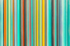 A coloured bar code? Not sure, but I love it!
