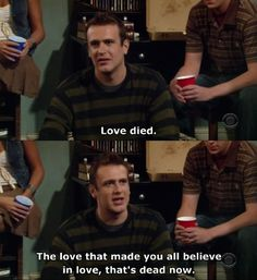 "When Lily broke his heart: | Marshall Eriksen's Best 25 Quotes On ""How I Met Your Mother"""