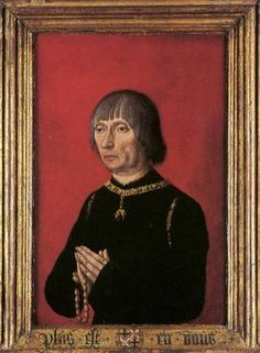 Lodewijk Gruuthuuse verzamelaar van handgeschreven liederen.