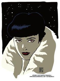 Rachel (Blade Runner) - Francesco Francavilla