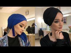 طرق سهلة لعمل حجاب توربان💕 لفات حجاب توربان💕 سهلة و متنوعة✔️ و موديلات كثيرة و حلوة✔️ لا يفوتكم - YouTube Turban Tutorial, Hijab Style Tutorial, Hijab Wear, Turban Hijab, Comfy Fall Outfits, Turban Style, Makeup Videos, Headgear, Wrap Style