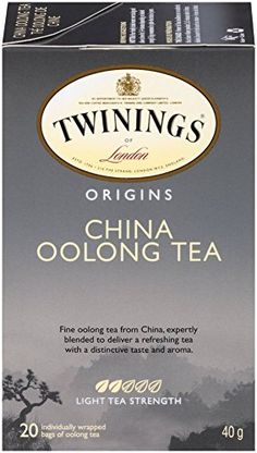Twinings Black Tea, China Oolong, 20 Count Bagged Tea (6 Pack) ** Find out more about the great product at the image link.