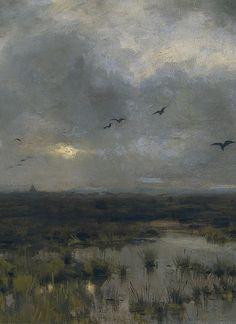 Anton Mauve (1838-1888), Le Bourbier - 1885
